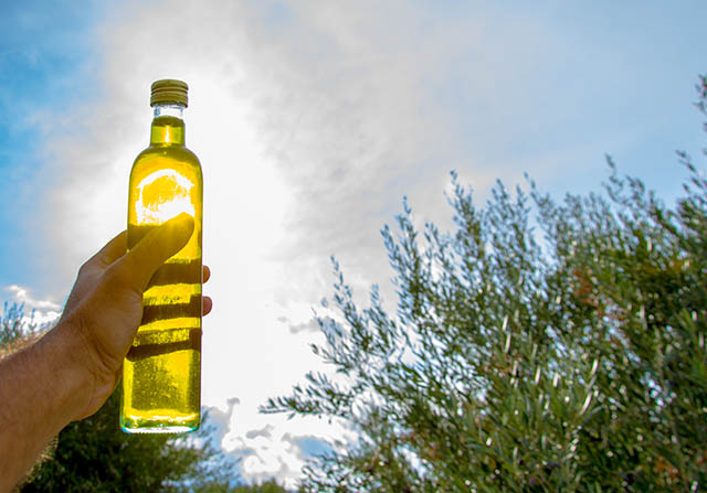 Olive oil from Crete extra virgin olive oil